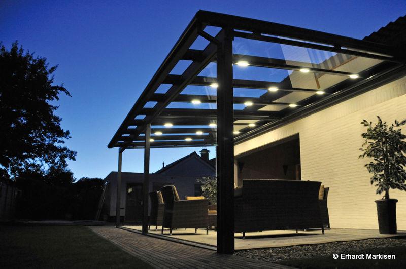Terrassenüberdachung Beleuchtung Led – Dekoration Bild Idee